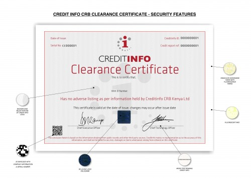 CRB ClearanceCert SF